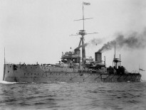 The Royal Navy's HMS Dreadnought, the world's first dreadnought