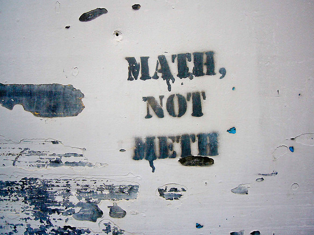 Math not meth