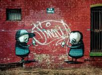 Public art by Australian based artist Stormie Mills.