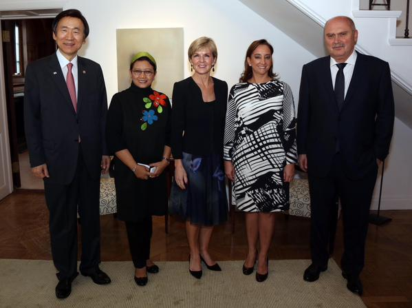 Important discussions on global & regional issues with fellow #MIKTA Foreign Ministers