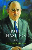 Paul Hasluck: a life book cover