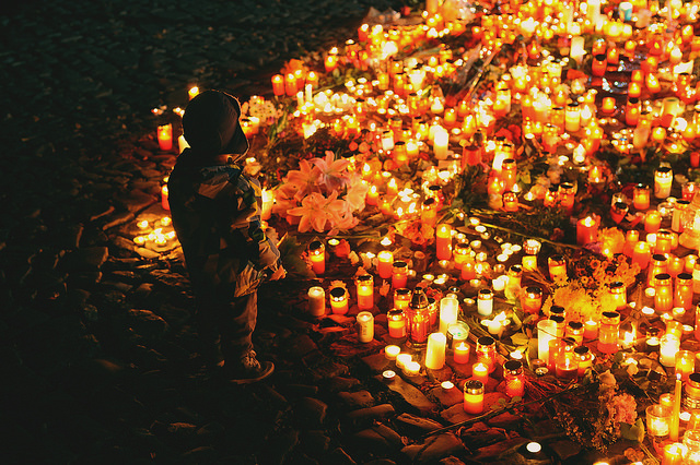 Prague prays for Paris