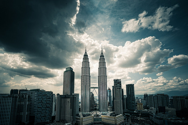 Petronas Twin Towers, Kuala Lumpur.