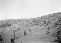 A game of cricket was played on Shell Green in an attempt to distract the Turks from the imminent departure of allied troops.