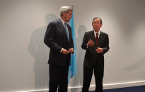John Kerry and Ban Ki-Moon