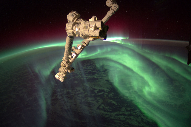 Aurora Australis (NASA, International Space Station, 07/15/12)