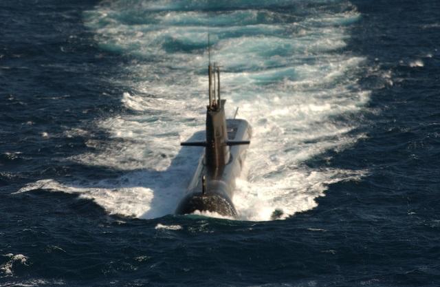 HMAS WALLER, COLLINS CLASS SSK 73