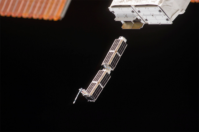 Deploying Satellites from the Space Station