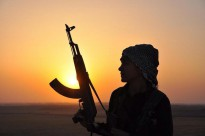 During the struggle against ISIS in Kobane