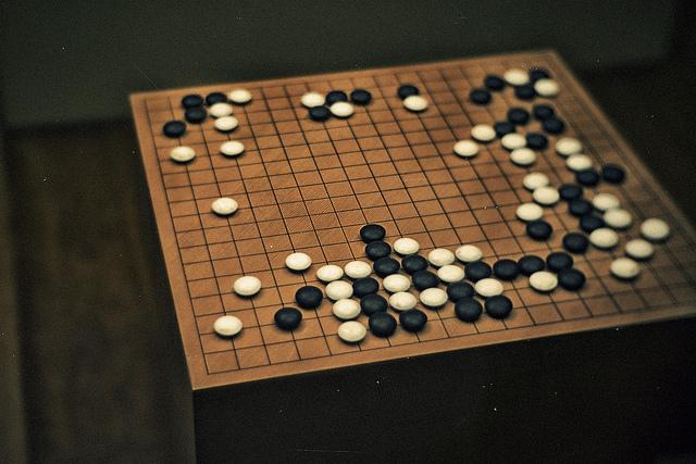 Go board game