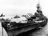 On September 2, 1945, Japan unconditionally surrendered to end World War II. They had formally agreed to the terms of surrender two weeks previous. On this date, the Japanese delegation met the allies aboard the USS Missouri which was anchored in Tokyo Bay