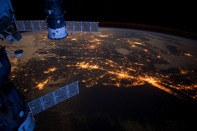 Image courtesy of Flickr user NASA's Earth Observatory