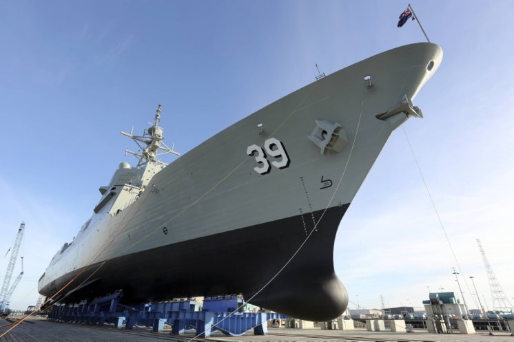 Image courtesy of the Navy Daily - Australian Government Department of Defence